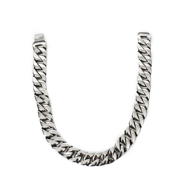 M.NRNECKLACE-S9 NEW ROCK CHAIN NECKLACE