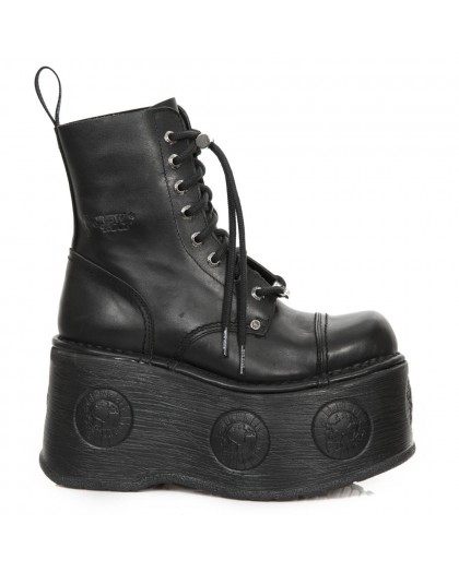d899a612df355 New Rock Ankle Boot M.NEWMILI083-S28 Metallic Collection