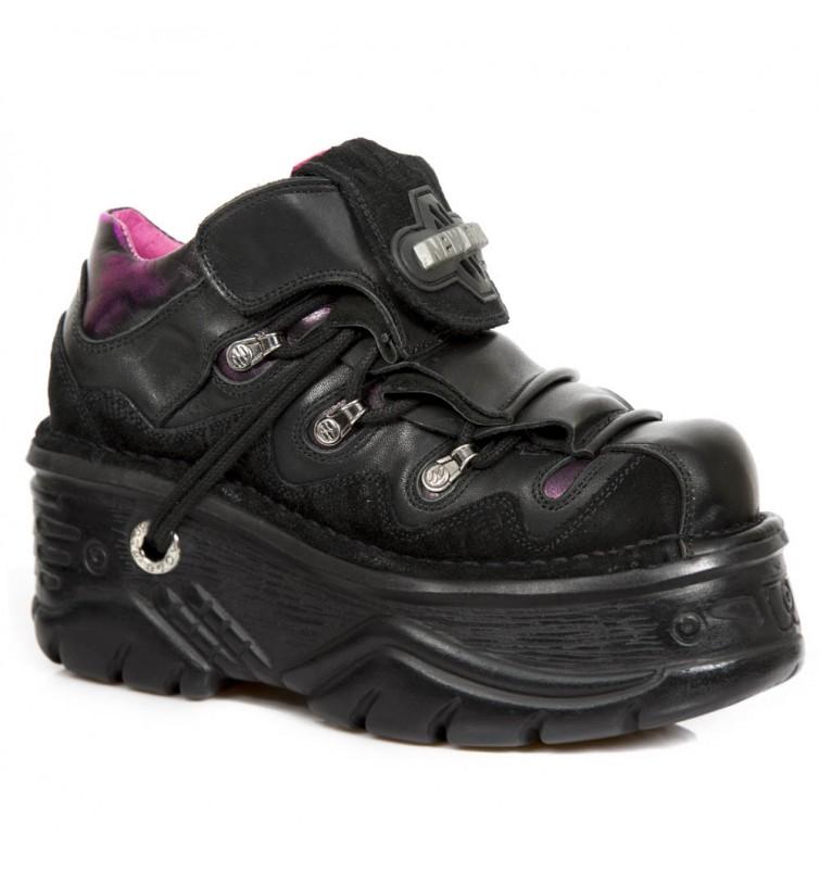 New Rock Shoe M.1075-S8 Metallic Collection