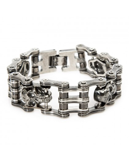 M.BRACELET5-S1 NEW ROCK ENGINE CHAIN BRACELET