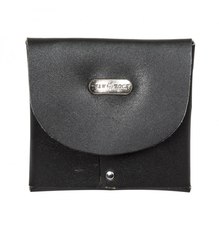 M.WALLET007-S1 CRUST NEGRO LEATHER SMALL PURSE