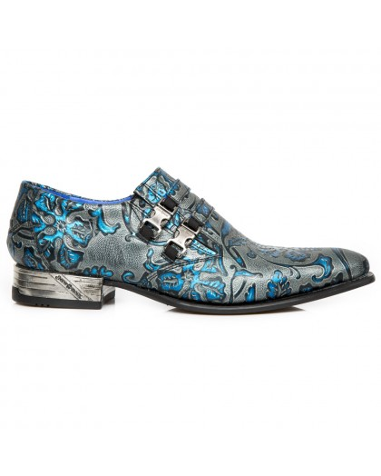 M.NW2288-S26 VINTAGE FLOWER AZUL