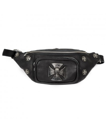 M.WAISTBAG6-S1 CRUST NEGRO