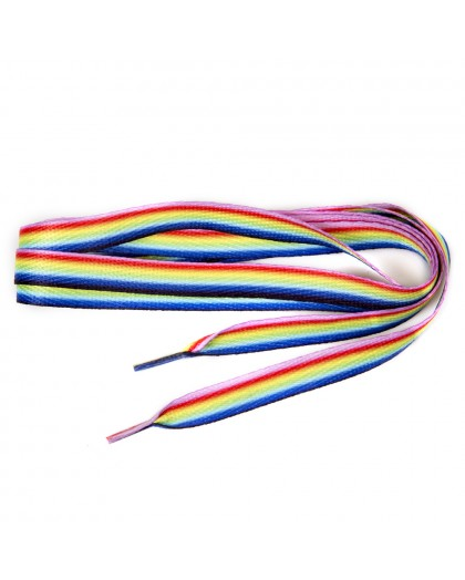 CORDONES 180cm P07 COLOR X1122 ** pares RAINBOW LACES