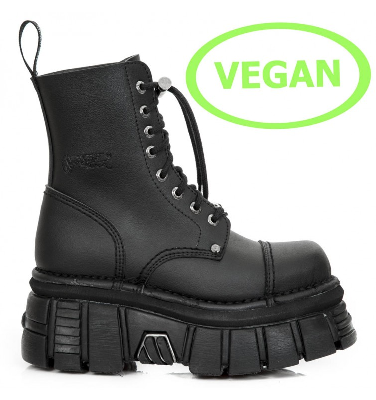 M.NEWMILI083-VS2 VEGAN NEGRO