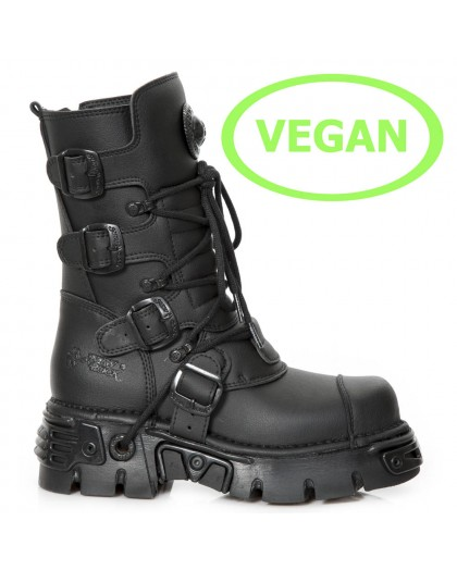 M-313-VS22 VEGAN NEGRO