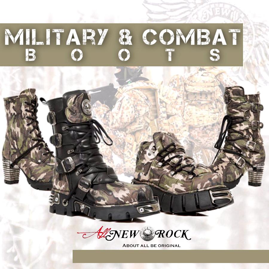 Botas Militares New Rock. Consejos para combinarlas. New