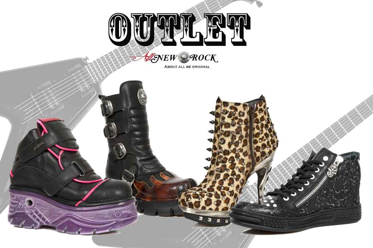 Outlet New Rock: Tus botas Rock a precios más económicos