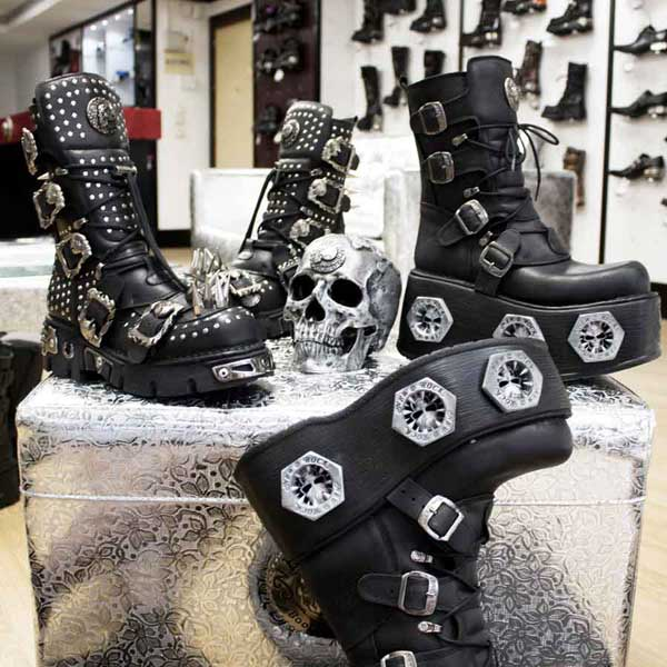 ✅ 15% Online New Rock Shop Deutschland Boots & Shoes
